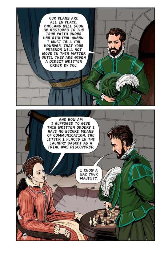 Book Preview For Elizabeth and Mary: Queen Versus Queen Page 9