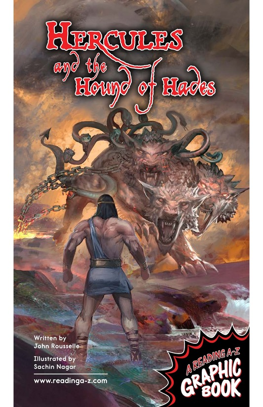 Book Preview For Hercules and the Hound of Hades Page 1