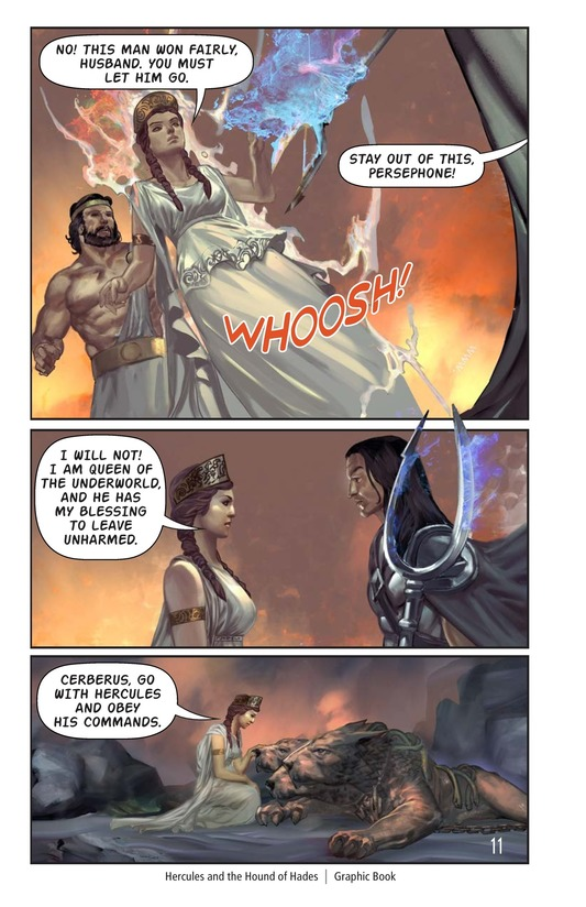 Book Preview For Hercules and the Hound of Hades Page 12