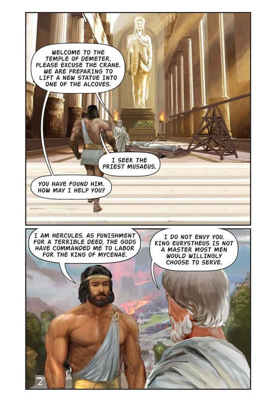 Book Preview For Hercules and the Hound of Hades Page 3