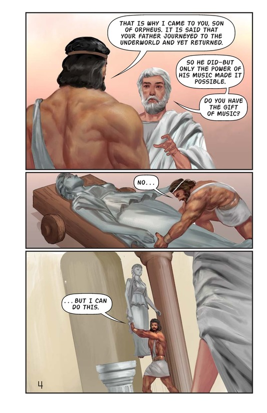Book Preview For Hercules and the Hound of Hades Page 5
