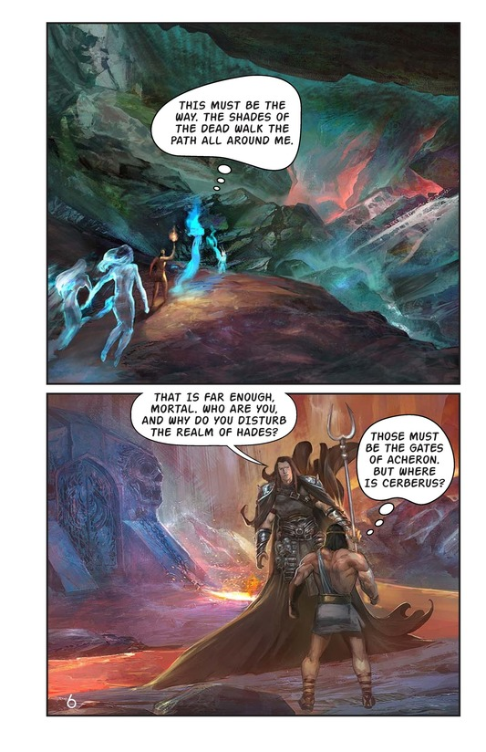 Book Preview For Hercules and the Hound of Hades Page 7