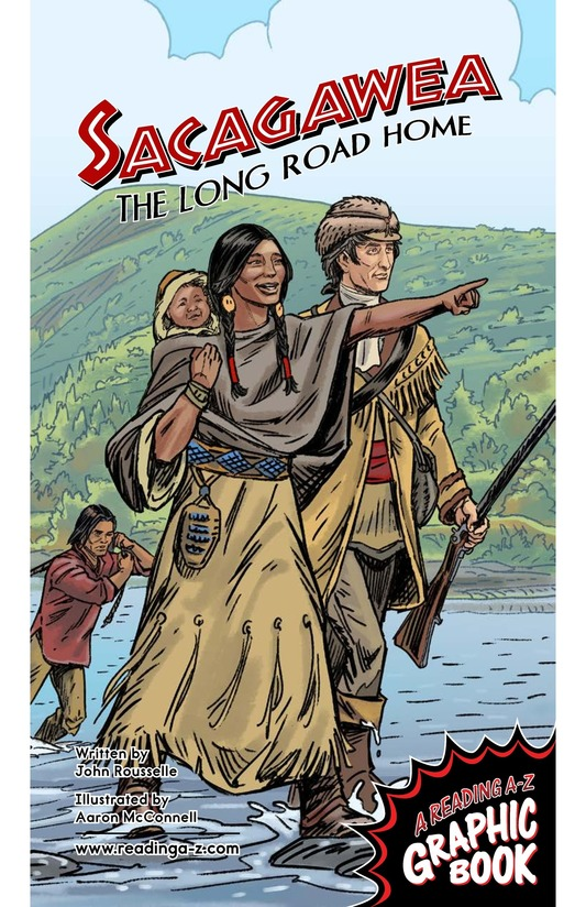Book Preview For Sacagawea: The Long Road Home Page 1