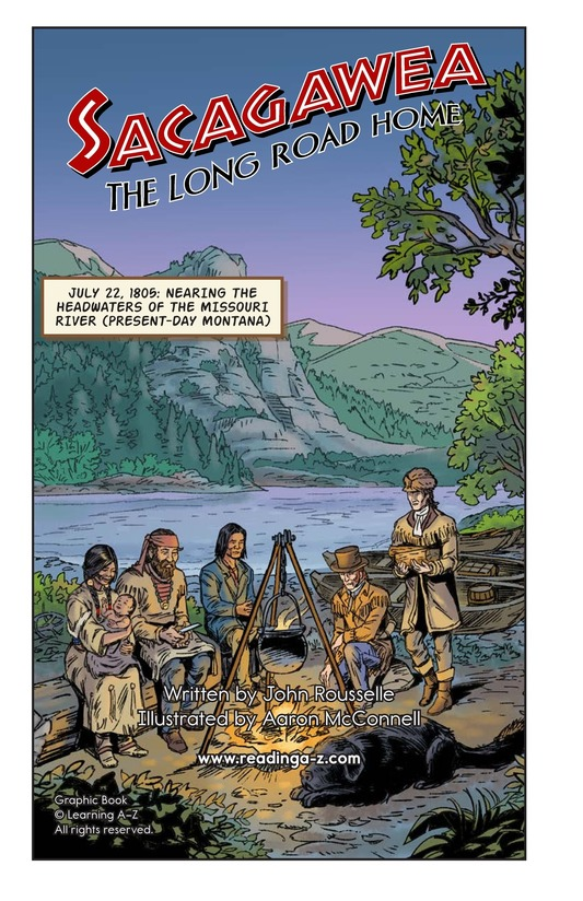 Book Preview For Sacagawea: The Long Road Home Page 2