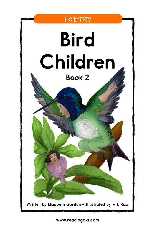 Book Preview For Bird Children Book 2 Page 1