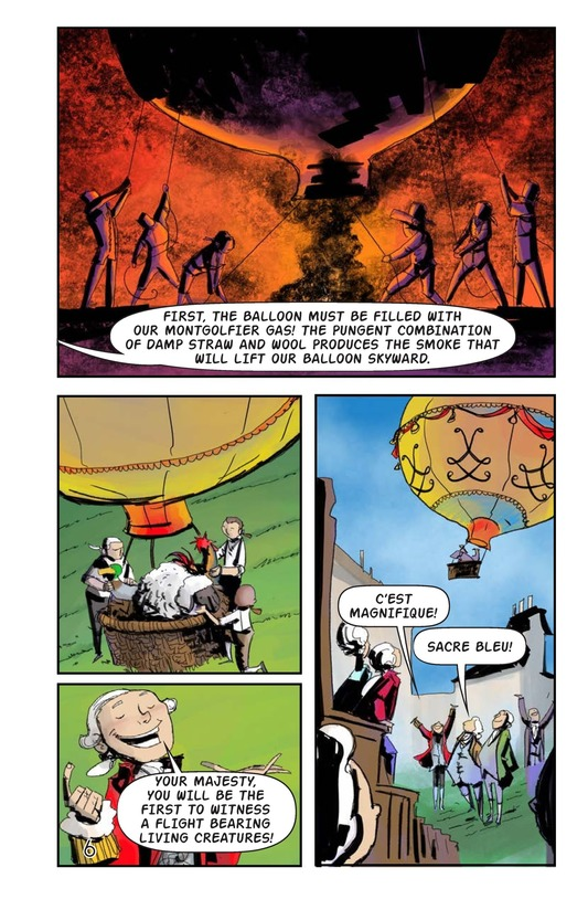 Book Preview For The Montgolfiers' Flying Animals Page 7