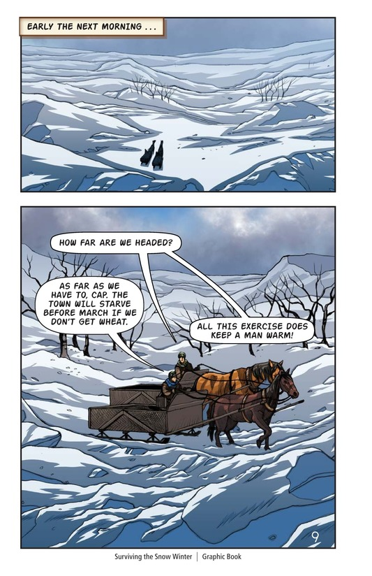 Book Preview For Surviving the Snow Winter Page 10