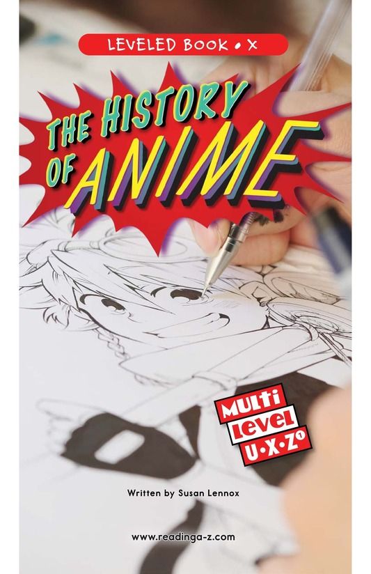 Book Preview For The History of Anime Page 0