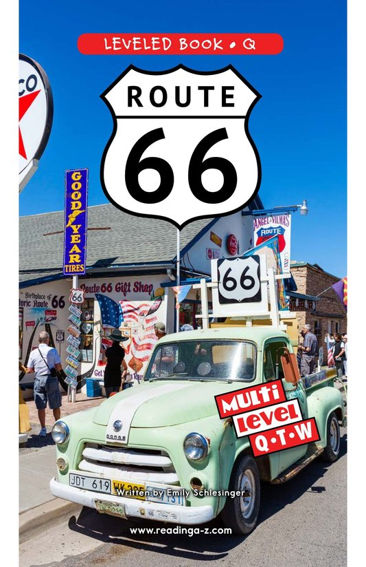 Book Preview For Route 66 Page 0