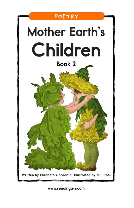 Book Preview For Mother Earth's Children Book 2 Page 1