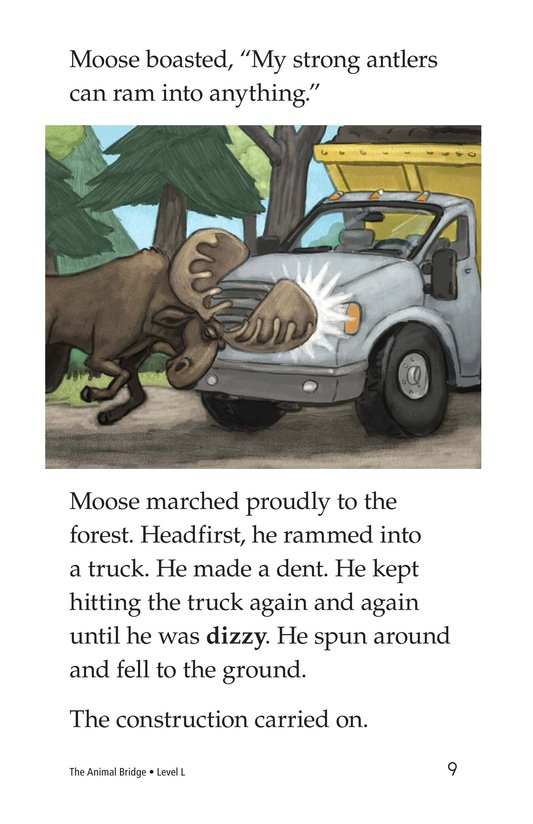 Book Preview For The Animal Bridge Page 9