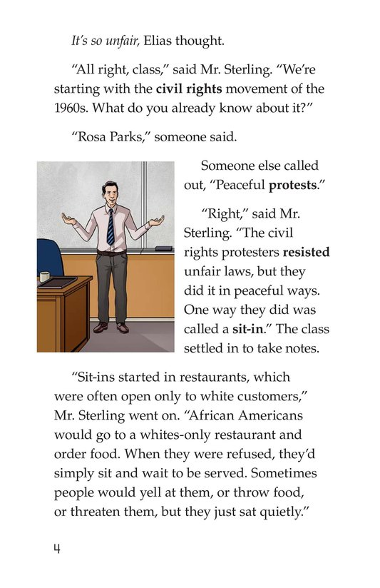 Book Preview For The Recess Revolt Page 4