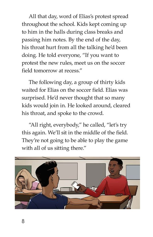 Book Preview For The Recess Revolt Page 8