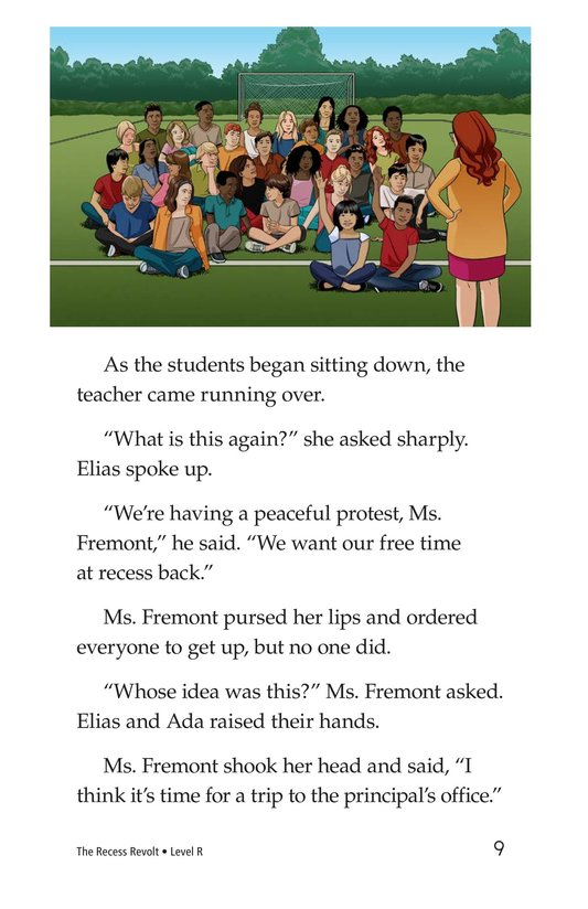 Book Preview For The Recess Revolt Page 9