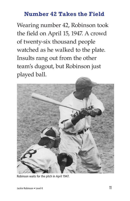 Book Preview For Jackie Robinson Page 11