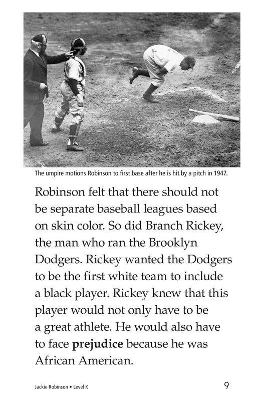 Book Preview For Jackie Robinson Page 9