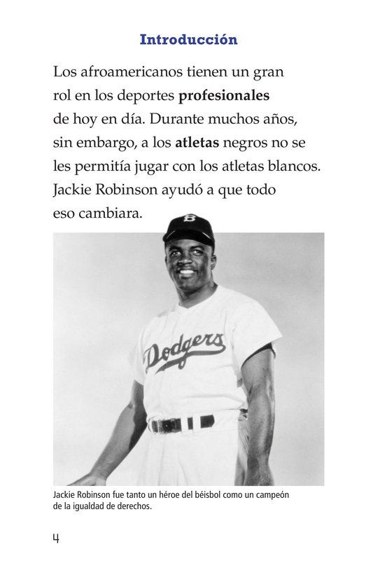 Book Preview For Jackie Robinson Page 4