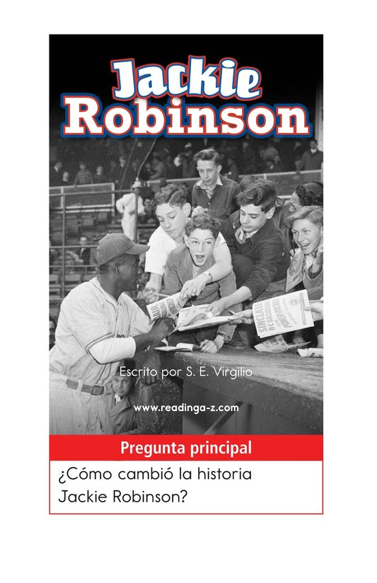 Book Preview For Jackie Robinson Page 1