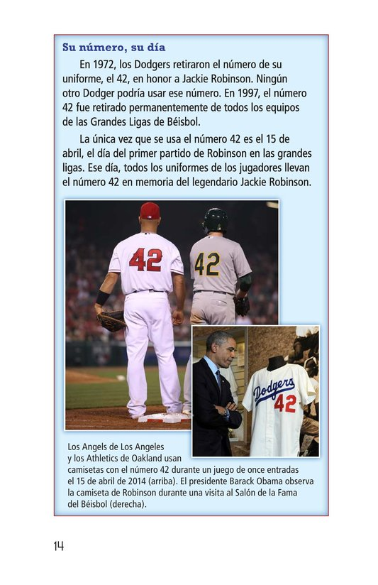 Book Preview For Jackie Robinson Page 14
