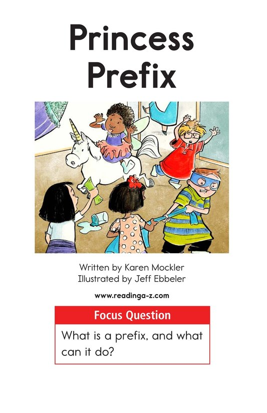 Book Preview For Princess Prefix Page 1