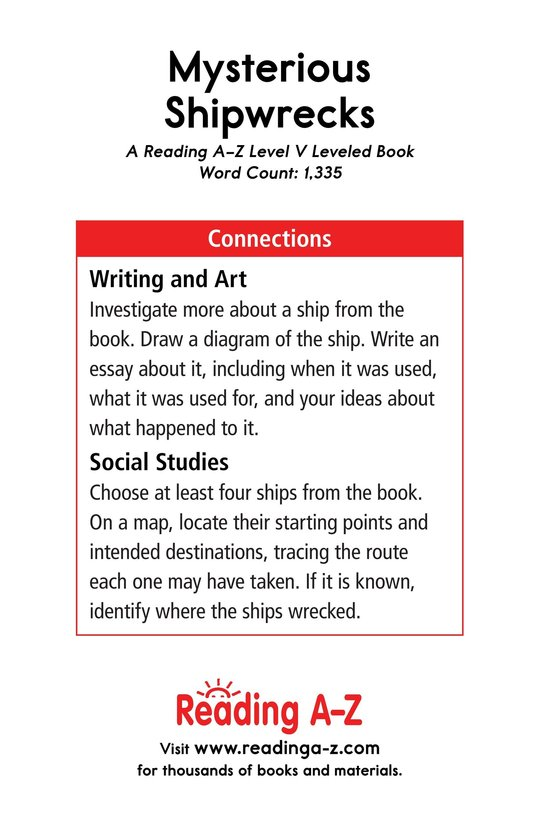 Book Preview For Mysterious Shipwrecks Page 17