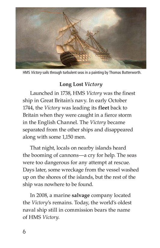 Book Preview For Mysterious Shipwrecks Page 6