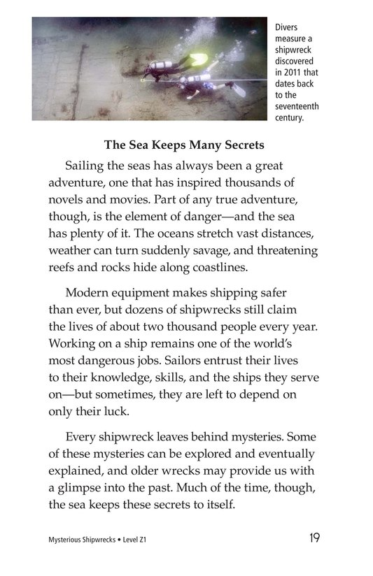 Book Preview For Mysterious Shipwrecks Page 19