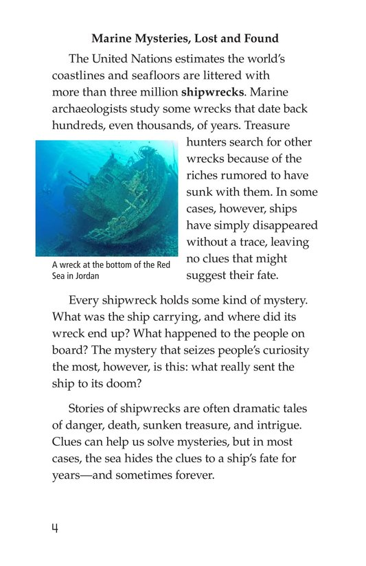 Book Preview For Mysterious Shipwrecks Page 4