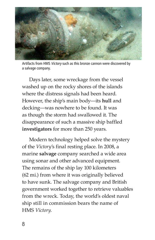 Book Preview For Mysterious Shipwrecks Page 8
