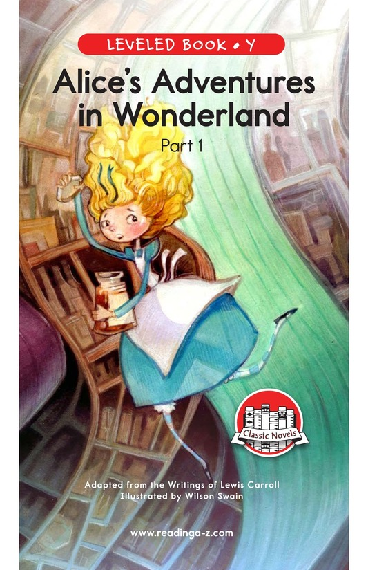 Book Preview For Alice's Adventures in Wonderland (Part 1) Page 0