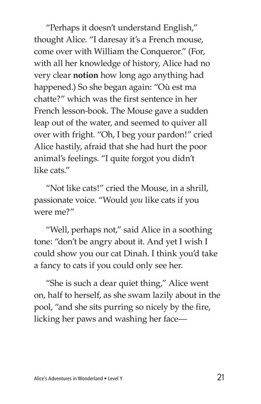 Book Preview For Alice's Adventures in Wonderland (Part 1) Page 21