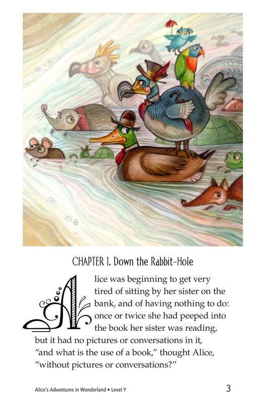 Book Preview For Alice's Adventures in Wonderland (Part 1) Page 3
