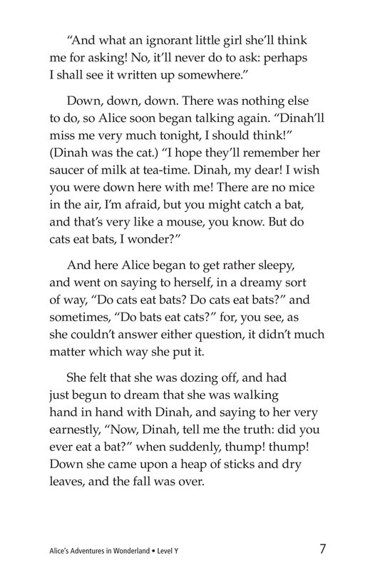 Book Preview For Alice's Adventures in Wonderland (Part 1) Page 7
