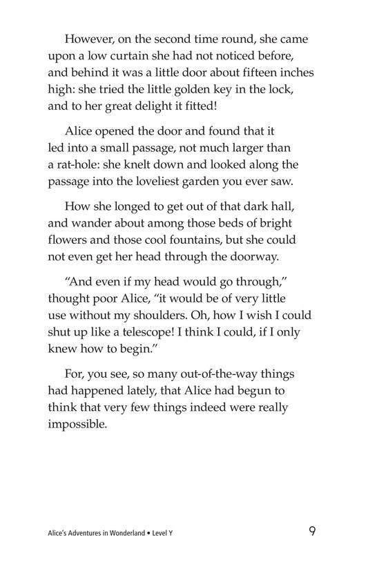 Book Preview For Alice's Adventures in Wonderland (Part 1) Page 9