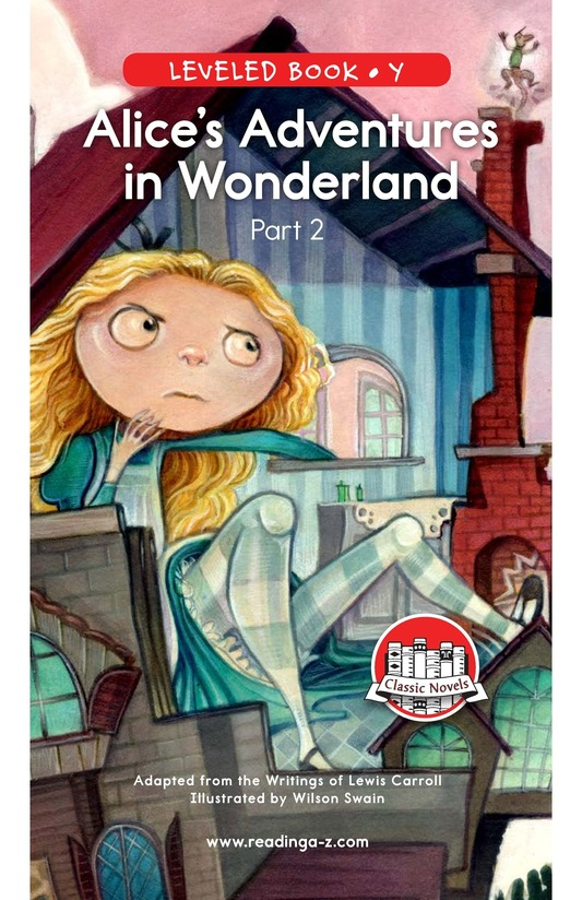 Book Preview For Alice's Adventures in Wonderland (Part 2) Page 0