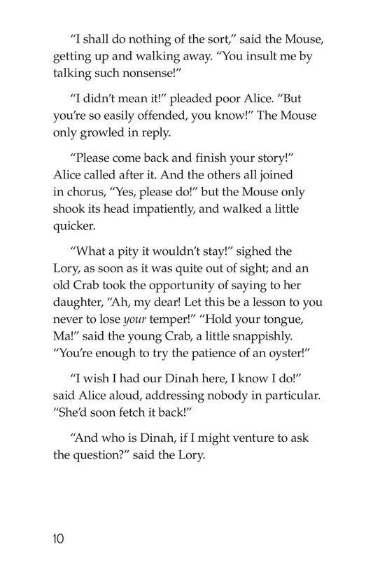 Book Preview For Alice's Adventures in Wonderland (Part 2) Page 10