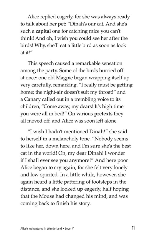 Book Preview For Alice's Adventures in Wonderland (Part 2) Page 11