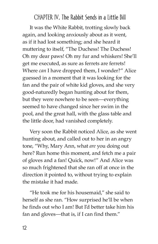 Book Preview For Alice's Adventures in Wonderland (Part 2) Page 12