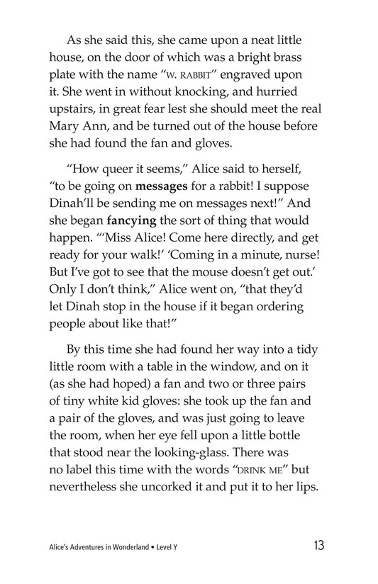 Book Preview For Alice's Adventures in Wonderland (Part 2) Page 13