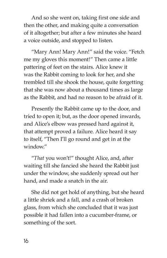 Book Preview For Alice's Adventures in Wonderland (Part 2) Page 16