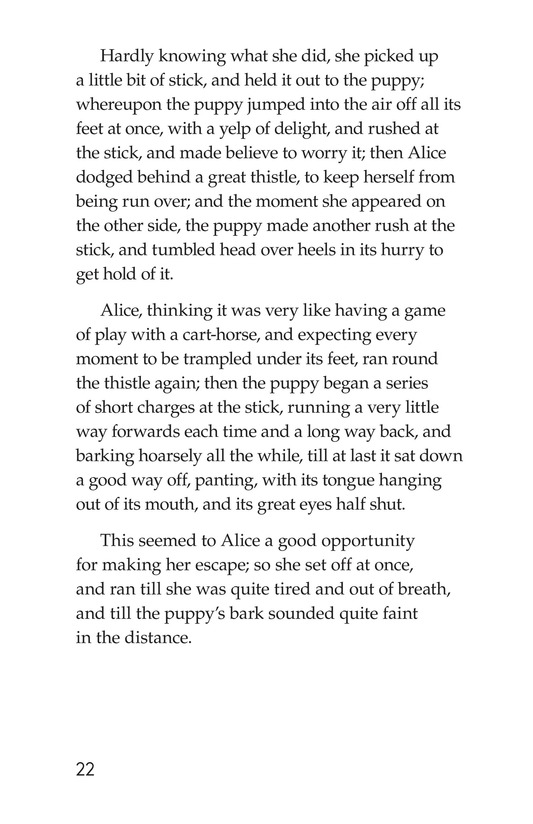 Book Preview For Alice's Adventures in Wonderland (Part 2) Page 22
