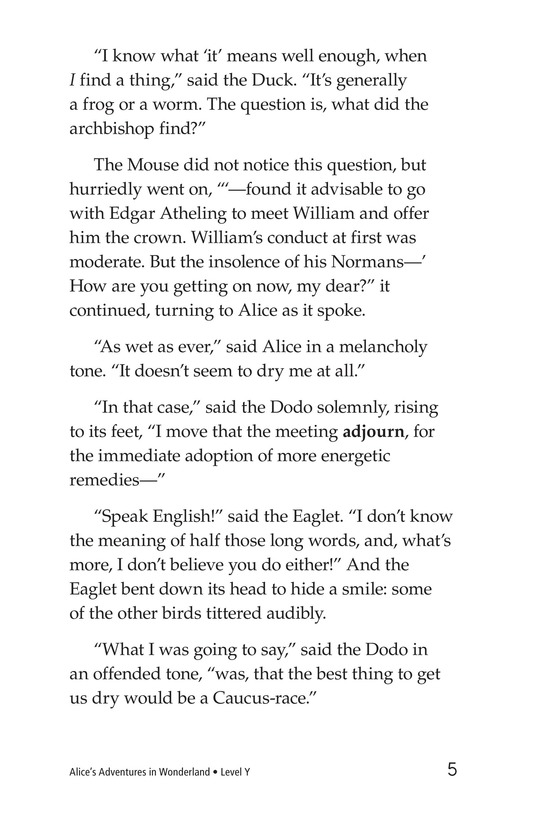 Book Preview For Alice's Adventures in Wonderland (Part 2) Page 5