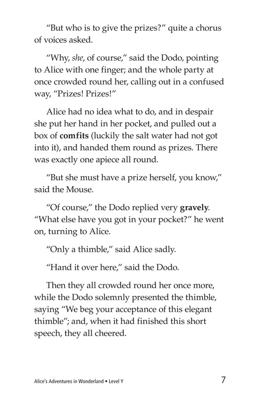 Book Preview For Alice's Adventures in Wonderland (Part 2) Page 7
