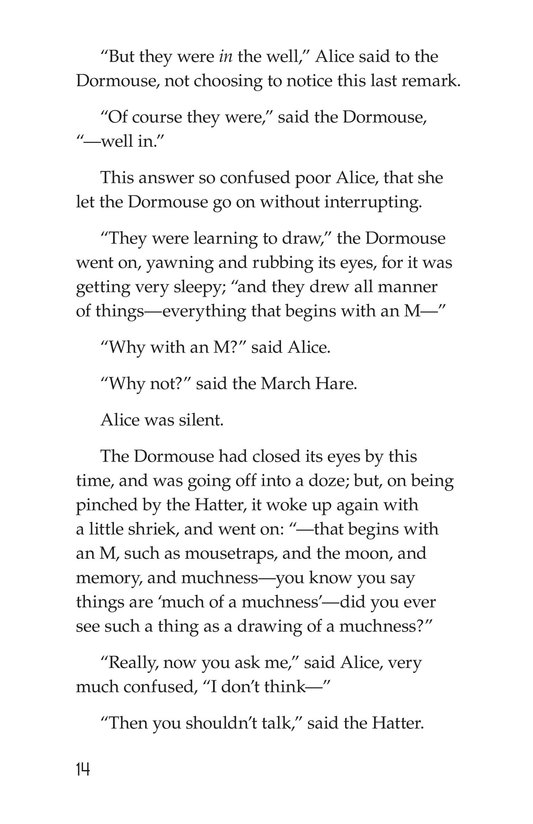 Book Preview For Alice's Adventures in Wonderland (Part 5) Page 14