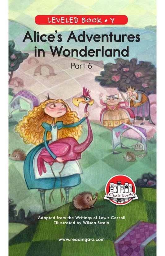 Book Preview For Alice's Adventures in Wonderland (Part 6) Page 0