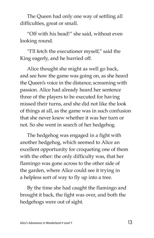 Book Preview For Alice's Adventures in Wonderland (Part 6) Page 13