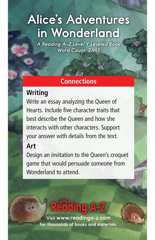 Book Preview For Alice's Adventures in Wonderland (Part 6) Page 17
