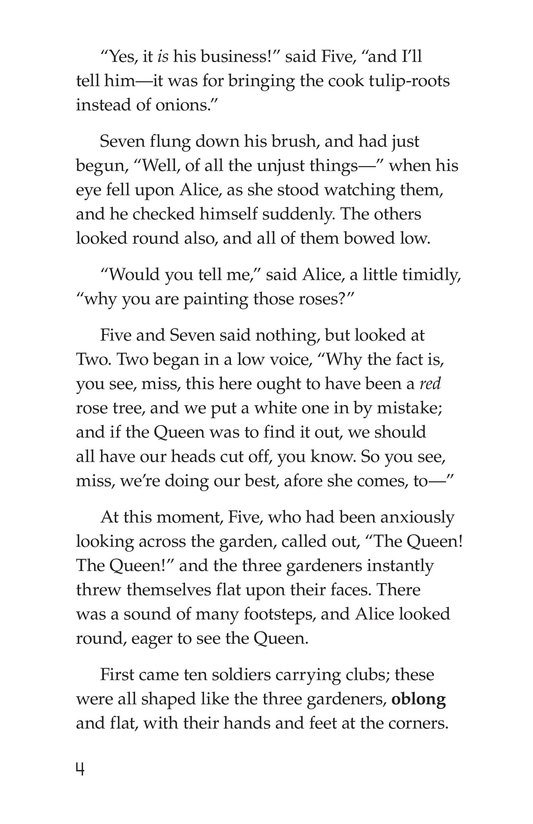 Book Preview For Alice's Adventures in Wonderland (Part 6) Page 4