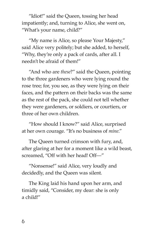 Book Preview For Alice's Adventures in Wonderland (Part 6) Page 6