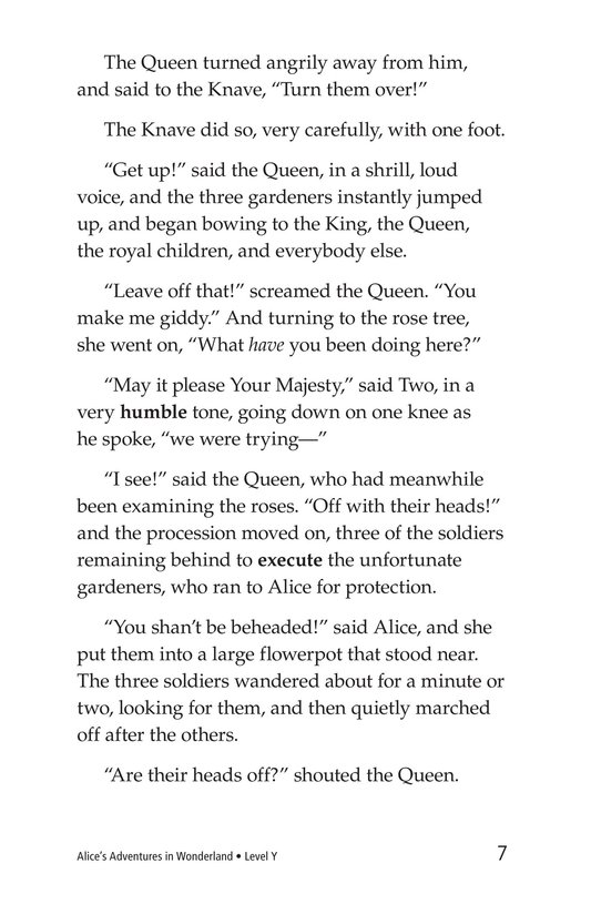 Book Preview For Alice's Adventures in Wonderland (Part 6) Page 7